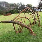 Bull & Whale, Sculpture Bermagui,Australia 2017 by muz2142