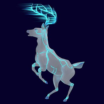 Tron Deer by PoppiPan