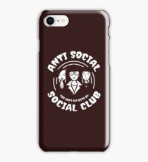 Anti Social Social Club - You Can't Sit With Us - Daria iPhone Case/Skin