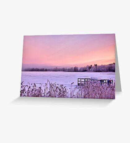 Lilac dawn Greeting Card