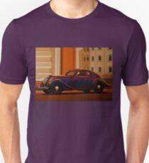 Skoda Popular Sport Monte Carlo 1935 Painting Unisex T-Shirt