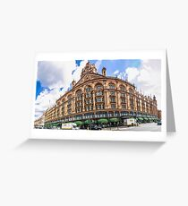 Harrods Wide Angle Greeting Card