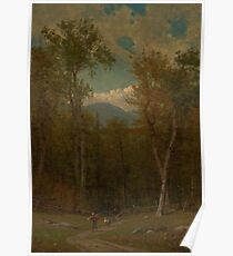 Landscape by Worthington Whittredge Poster