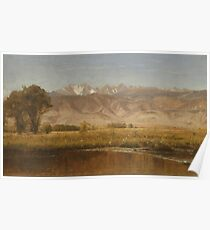 Foothills Colorado by Worthington Whittredge Poster