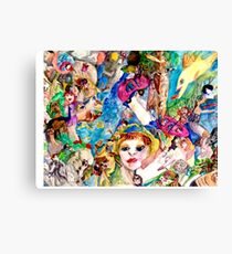 I live in Peace Canvas Print
