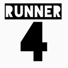 RUNNER 4 - white by Teayl