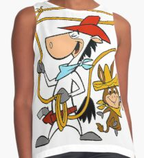 Quickdraw McGraw and Baba Looey Sleeveless Top