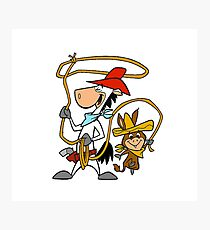 Quickdraw McGraw and Baba Looey Photographic Print