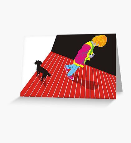 Heymae and Ben Greeting Card