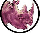 Happy Rhino by James Fosdike