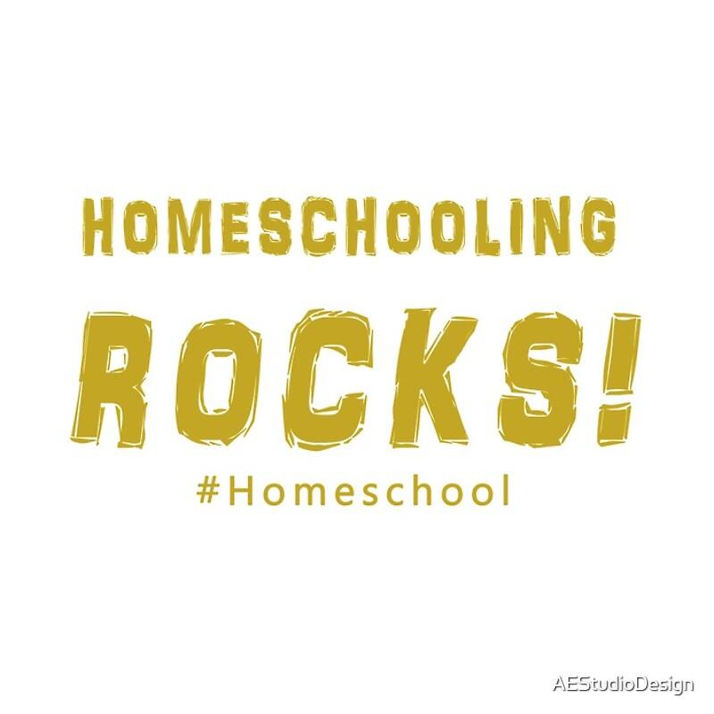 Homeschooling Rocks! T-Shirt/ Wall Art/\