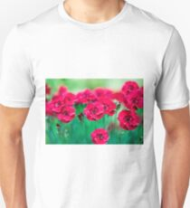 Red Dianthus T-Shirt