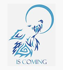 wolf is coming Photographic Print