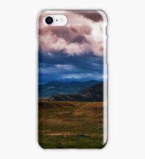 Montana Mountain Storm iPhone Case/Skin