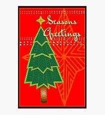 Christmas Tree - Australian Aboriginal Art Photographic Print
