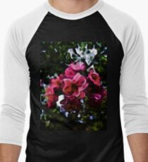 Pink Blossoms and Green Leaves with some Black T-Shirt