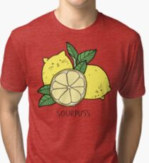 Sourpuss (colourised) Tri-blend T-Shirt