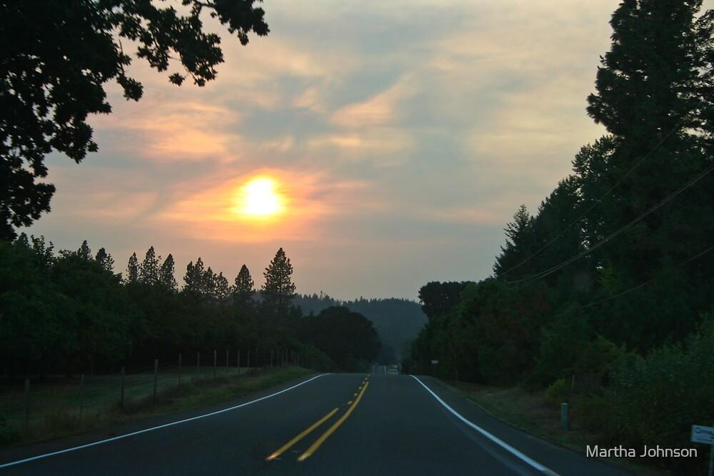 Sunset Road by Martha Johnson