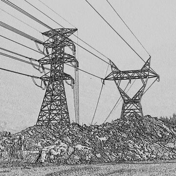 Power and Rubble III by TangoLea