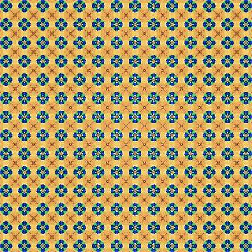 Pencil Kaleidoscope 2 by figureofpeach