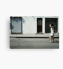 Nothing to See Here in Shanghai Canvas Print