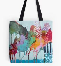 Floral Trees 2 Tote Bag