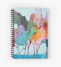 Floral Trees 2 Spiral Notebook