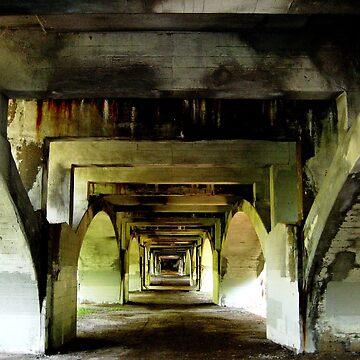 Beneath the Bridge I by TangoLea