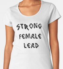STRONG FEMALE LEAD Women's Premium T-Shirt