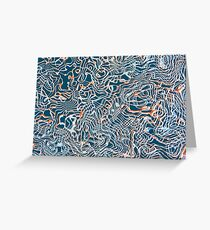 Abstract composition 333 Greeting Card