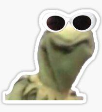 Kermit Clout Goggles Edition Sticker
