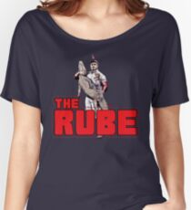 DOLLOP - THE RUBE Women's Relaxed Fit T-Shirt