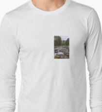 Austria: Hiking in the rain Long Sleeve T-Shirt
