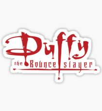 Duffy The Bounce Slayer - Sheffield United Sticker