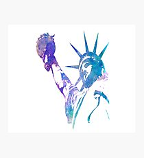 Statue of liberty t shirt Photographic Print