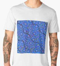 blue river and ocean Men's Premium T-Shirt