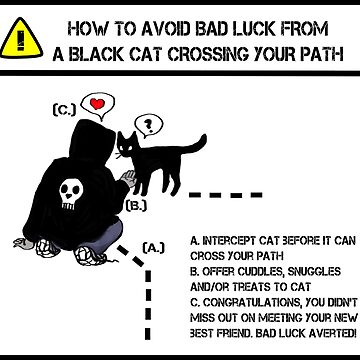 Black Cat Luck by Muninn