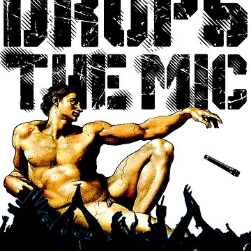 Drops The Mic (Adam) by ApostateAwake