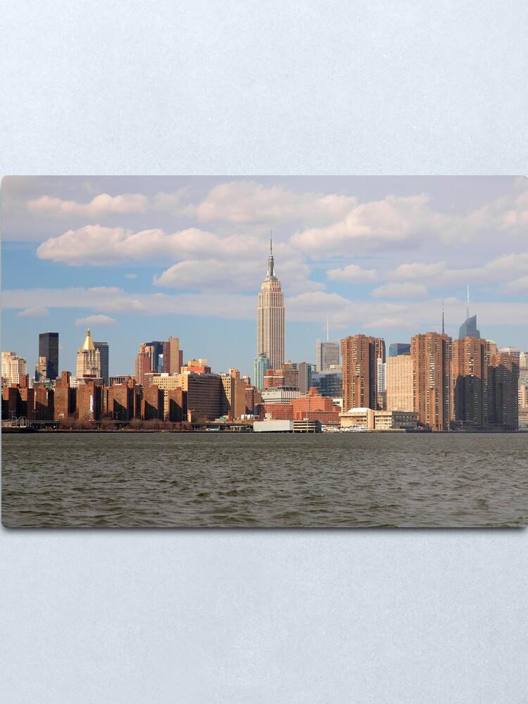 Alternate view of New York Skyline Metal Print