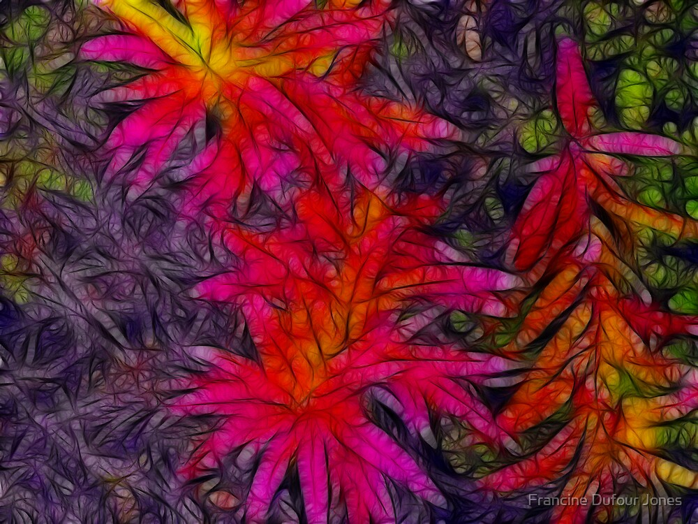 Fireweed Summer is Over by Francine Dufour Jones