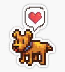 A Good Boy Sticker