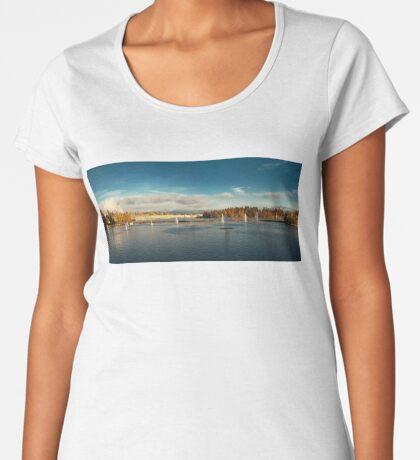 Oulu panorama Women's Premium T-Shirt