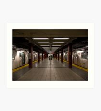 New York Subway Art Print