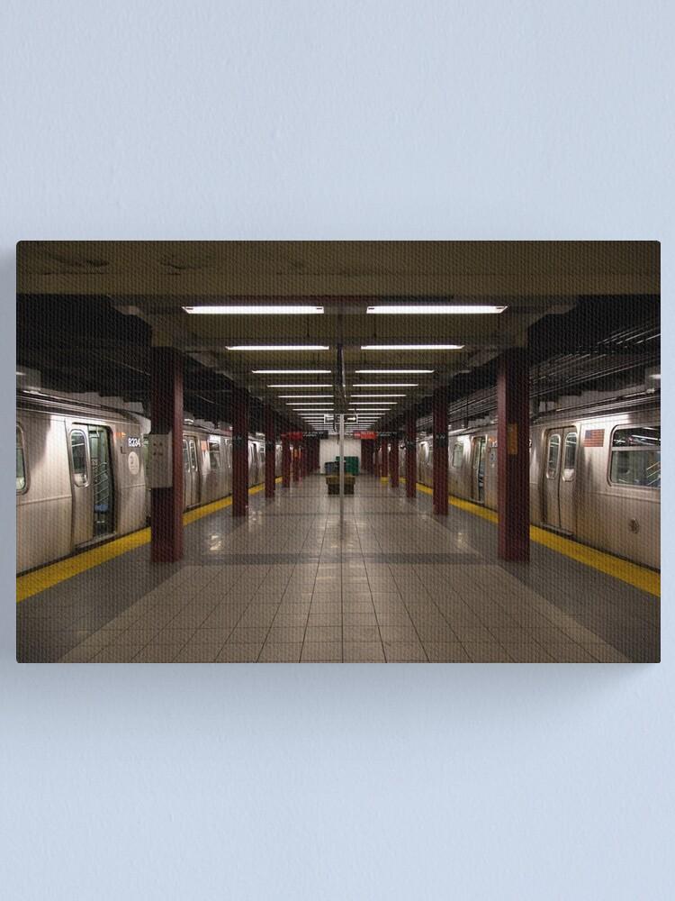 Alternate view of New York Subway Canvas Print