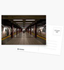 New York Subway Postcards