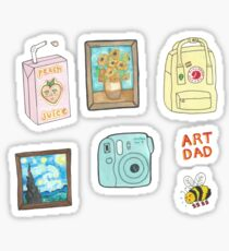 artsy sticker pack Sticker