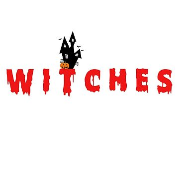 Witches - Happy Halloween Design by godwintorres