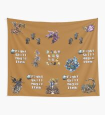 Final Fantasy VI Collage Wall Tapestry