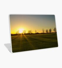 Sunset in the Phoenix Park, Dublin Laptop Skin