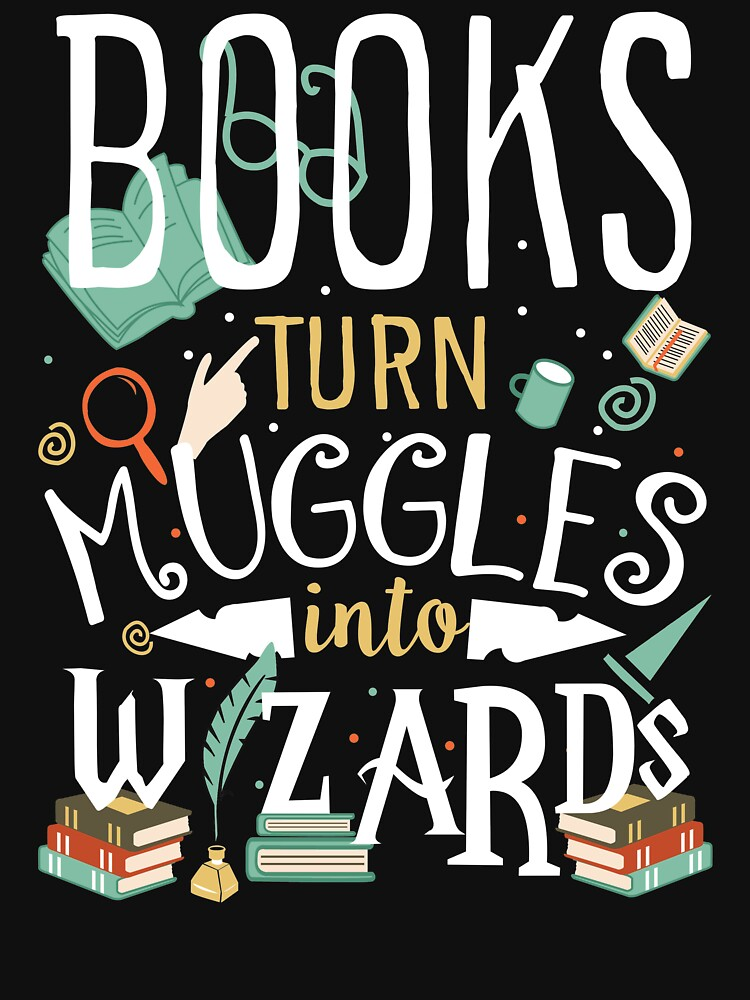 Los libros convierten a los muggles en magos de Printup